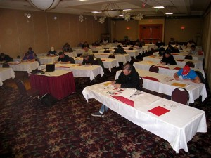 Canadian EIFS industry personnel attend EIFS Quality Assurance Program exam sessions in Calgary