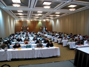Canadian EIFS industry personnel attend EIFS Quality Assurance Program review and exam sessions in Toronto