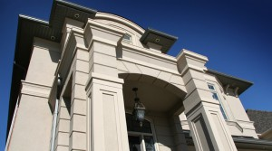 EIFS Stucco building