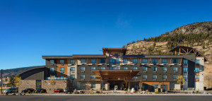Keystone Architecture Merritt Hotel Exterior and Interior