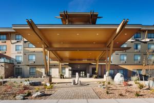 Keystone Architecture Merritt Hotel Exterior and Interior